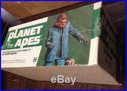 Vintage Planet Of The Apes Dr. Zaius 1973 Rare NIB, Wrapped Addar Model Kit