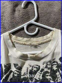 Vintage Planet Of The Apes Movie Promo Shirt XL Rare Print Distressed 1/1
