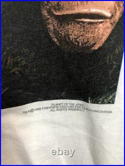 Vintage Planet Of The Apes Movie Promo T Shirt Size XL