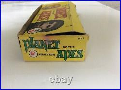Vintage Planet of the Apes Wax Pack Topps Box 1969-Zauis-Cornelius-Heston-POTA