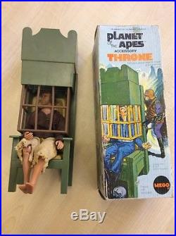 Vintage Rare Planet Of The Apes Toys And Figures Boxed Mego LOOK
