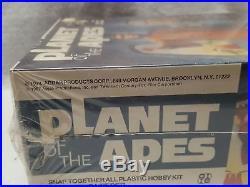 Vintage Rare Sealed 1974 Addar Planet Of The Apes Dr. Zira Toy Model Kit
