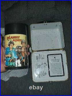 Vintage metal lunch box 1974 planet of the apes with thermos