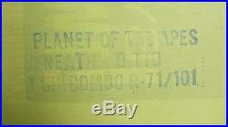 Vtg 1971 Planet Of The Apes/ Beneath Planet Of. Us Ori 1sh 27x41 Film Poster
