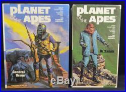 Vtg 1973 Addar Lot Planet Of The Apes Dr Zaius & General Ursus Pro Built Painted