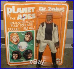 Vtg 70's MEGO Planet of the Apes Dr. Zaius 8 Action Figure NEW on Sealed Card