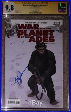 War For Planet of the Apes #1 variant CGC 9.8 SS Signed by Andy Serkis (Ceasar)