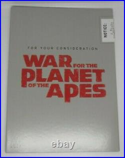 War For The Planet Of The Apes FYC Super RARE DVD
