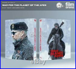 War For the Planet of the Apes 4K + 3D + Blu-ray Steelbook Maniacs Box Filmarena