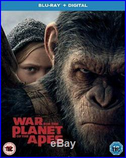 War for the Planet of the Apes Blu-ray + UV 2017 DVD WHVG The Cheap Fast