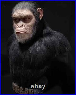 War for the Planet of the Apes, Caesar 11 Silicone Bust