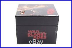 War for the Planet of the Apes Steelbook Maniacs Box 4KUHD+3D+2D Filmarena