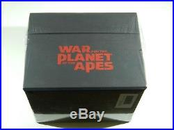 War for the Planet of the Apes Steelbooks 4KUHD+3D+2D Blu-ray Filmarena #359/400