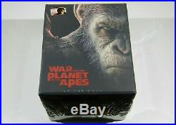 War for the Planet of the Apes Steelbooks 4K UHD+3D/2D Blu-ray Filmarena Maniacs