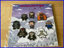War of the Planet of the Apes CREW GIFT Pin Collection 2015-2017