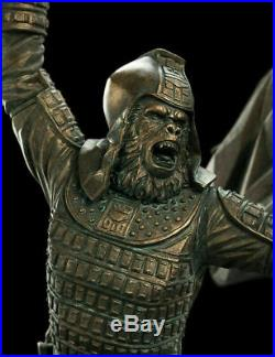 Weta Workshop Planet of the Apes General Ursus Statue 1/6 Sixth Scale New Sealed