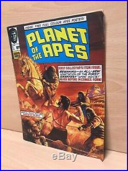X101 Rare 1970's Planet Of The Apes Comics Collection Marvel Comics Inc. No. 1
